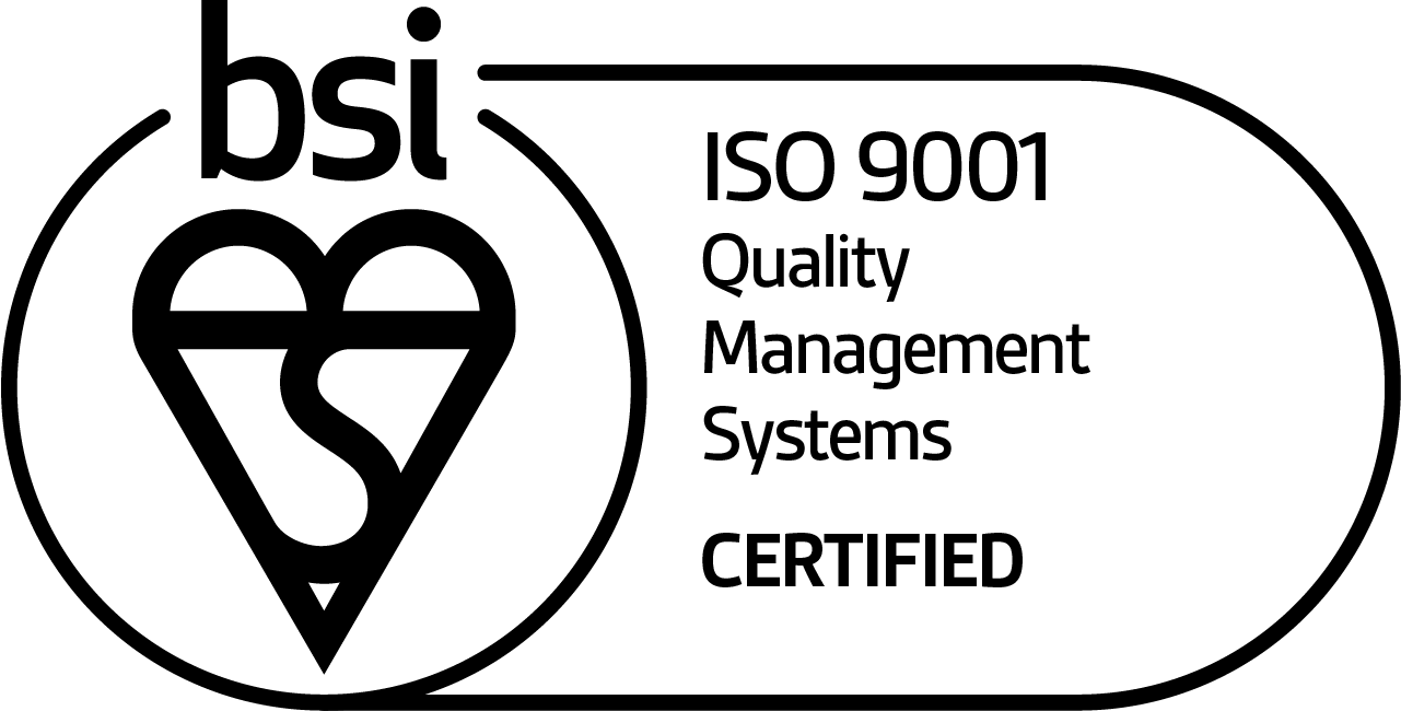ISO 9001 Quality Management Systems certified