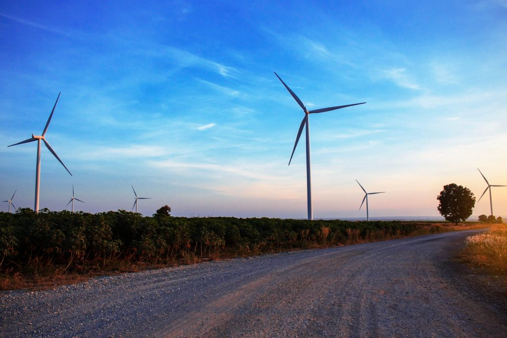 energy industry wind turbines